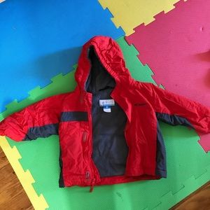 Columbia 2-piece Snowsuit Coat & Pants 2T Orange